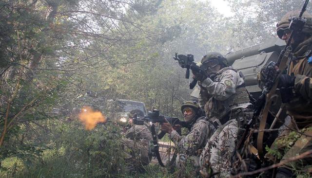 Разведка, спецназ и морская пехота наиболее популярны среди будущих украинских офицеров
