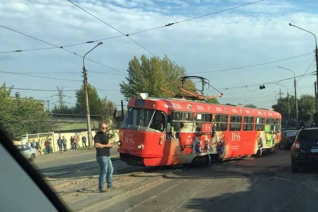 В Харькове очередной трамвайный дрифт (фото)