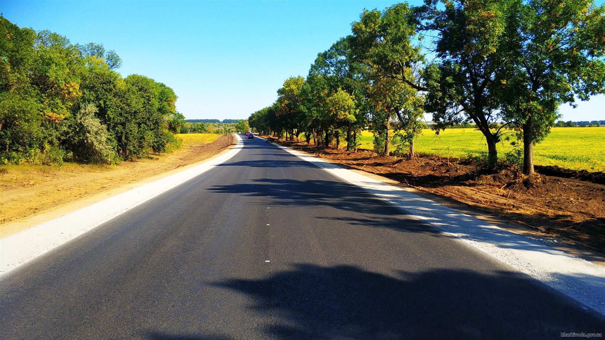 Выполнение работ на ремонтируемых в области участках дорог приближается к 90%