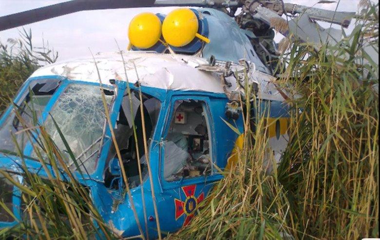 Во время тушения лесного пожара на Харьковщине упал вертолет (видео) – обновлено