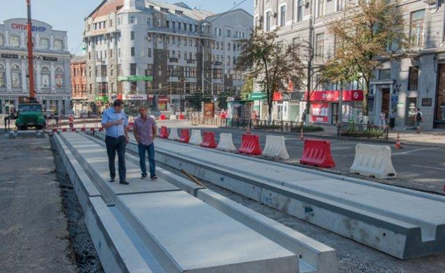 Движение в начале Московского проспекта будет открыто в ближайшие дни