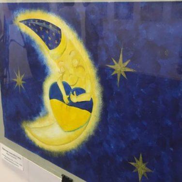 В Харькове показали детский взгляд на мирное небо (фото)