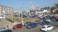 На Клочковской огромная пробка (фото)