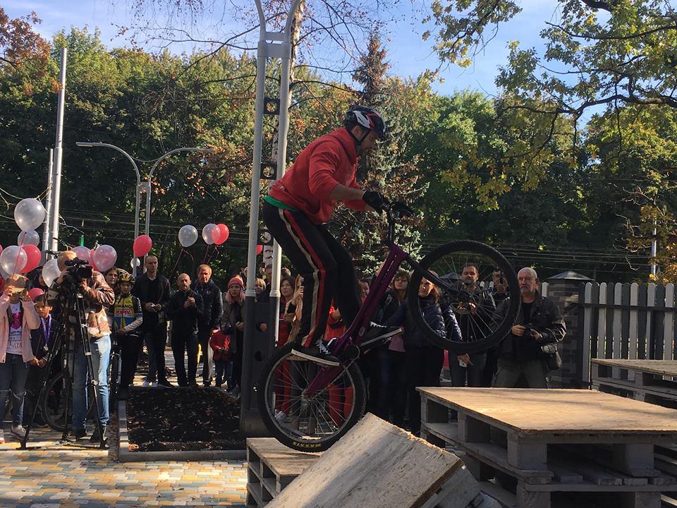 В Харькове открылся первый велоцентр (фоторепортаж)
