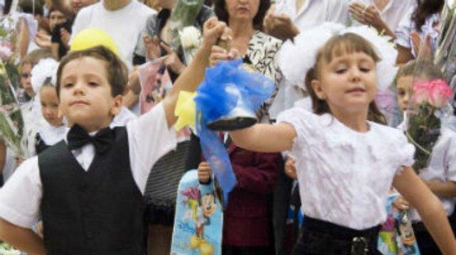 В школах Харькова – первый звонок