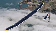 Самолет на солнечных батареях продержался в воздухе 25 дней