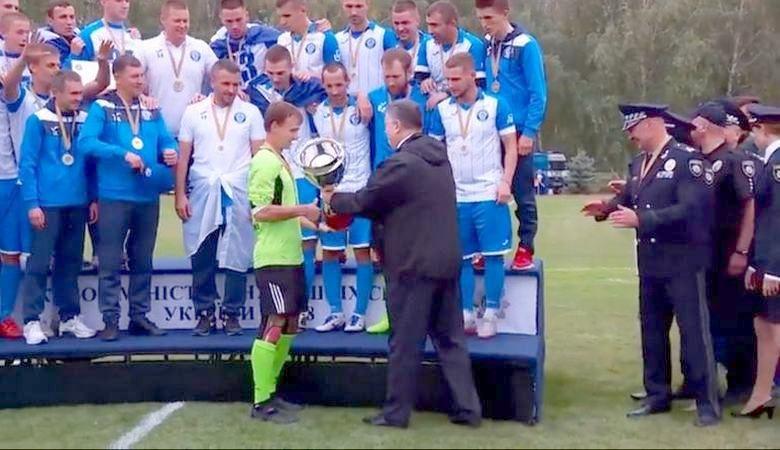 Кубок Министра внутренних дел по футболу едет в Харьков