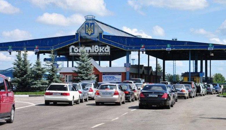Награнице с государством Украина задержали машину смертвой пассажиркой