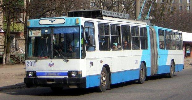 На ХТЗ запрещают движение троллейбусов