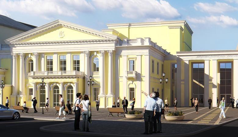 У Харківській філармонії завершено ремонт фасаду (відео)