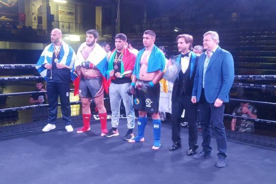 Харьковские спортсмены завоевали медали на чемпионате Европы по смешанным единоборствам ММА