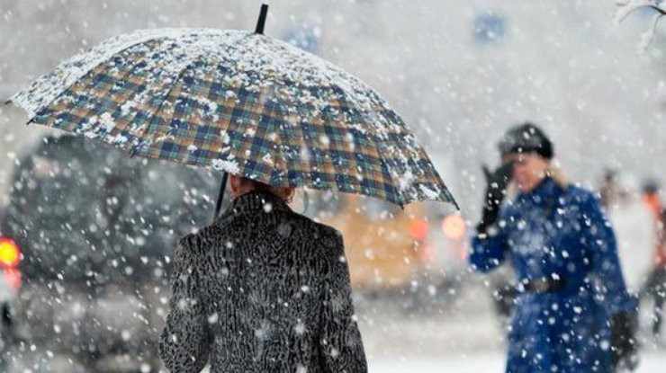 В Харьковской области пойдет мокрый снег