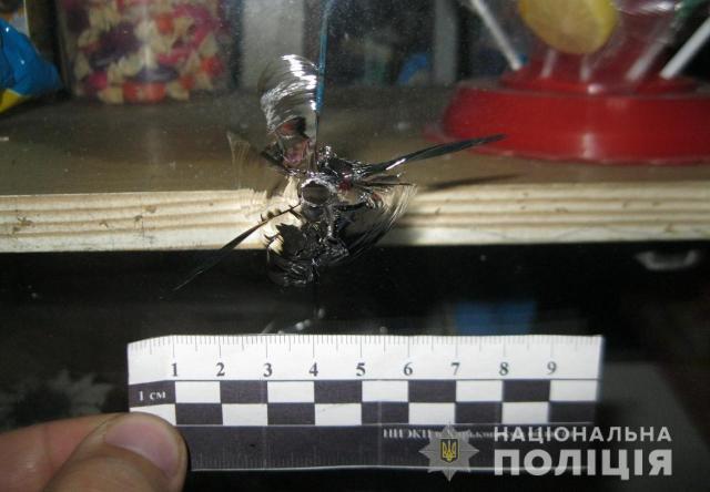 Пьяный харьковчанин обстрелял киоск (фото)