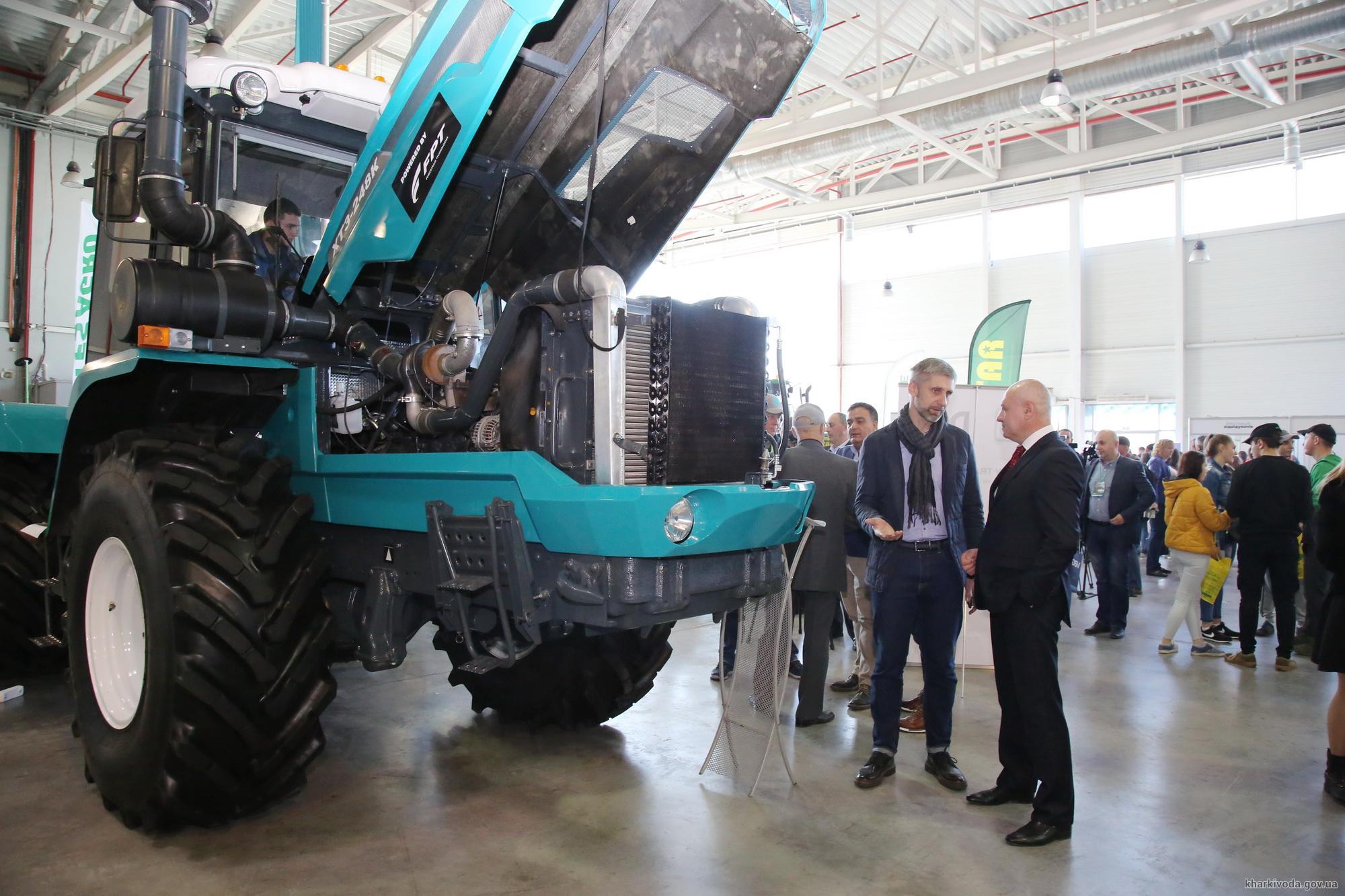 В Харькове проходит международная выставка и форум «Агропорт» (фото)