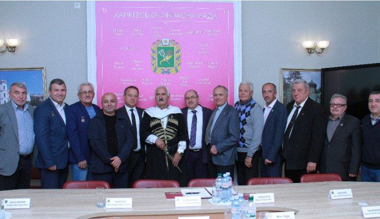 Организации чернобыльцев Харьковщины и Грузии договорились о сотрудничестве
