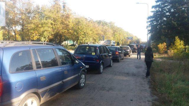 Харьковские автомобилисты поддержали общеукраинский протест против повышения цен на горючее (фото)