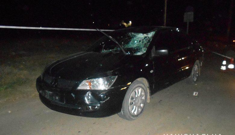 Водитель автомобиля «Mitsubishi» сбил пенсионера на велосипеде (фото)