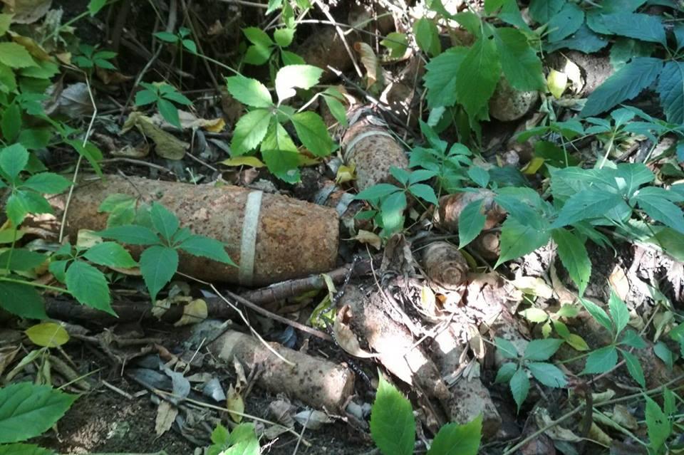 На Харьковщине нашли 72 снаряда (фото)