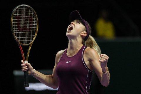 Элина Свитолина выиграла Итоговый турнир WTA в Сингапуре