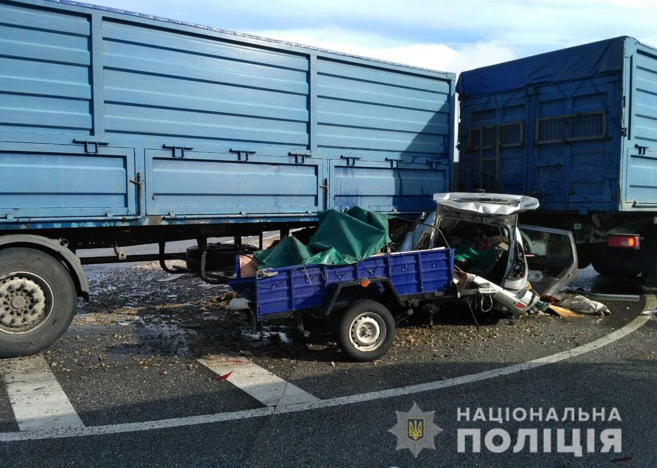 В Полтавской области погибли двое харьковчан (фото)