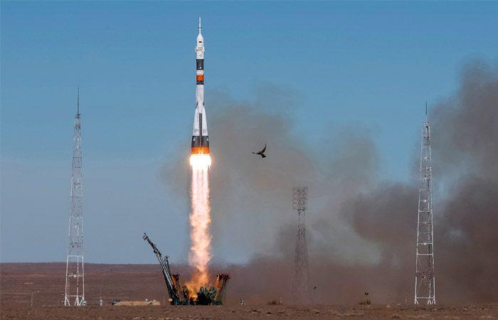 Российская ракета «Союз» сломалась во время старта