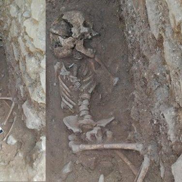 В Италии нашли останки маленького вампира