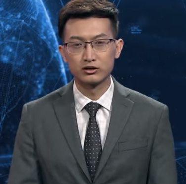 В Китае создали виртуального телеведущего новостей (видео)