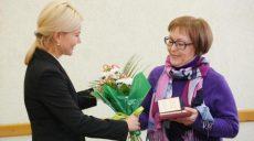 Анна Шестопалова награждена орденом княгини Ольги III степени