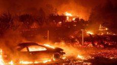 Лесные пожары в Калифорнии уничтожили небольшой город (фото)
