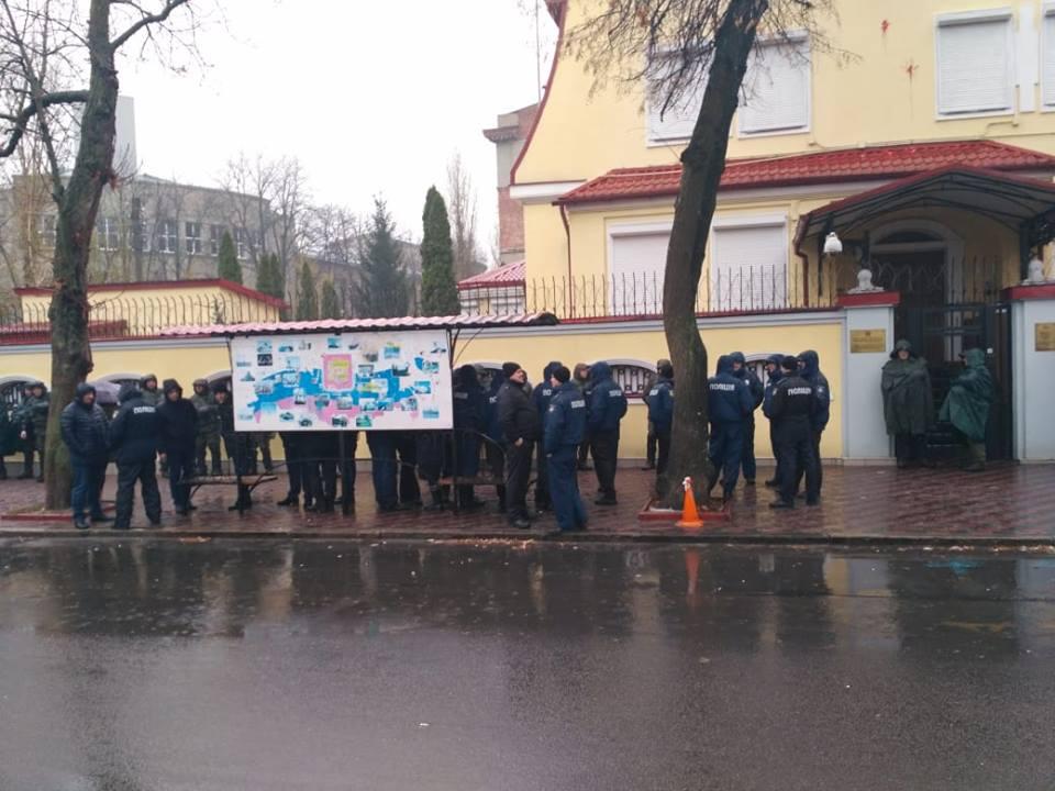 Консульство России в Харькове взято под усиленную охрану