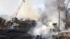 Спасатели локализовали крупный пожар в Шевченковском районе Харькова (фото)