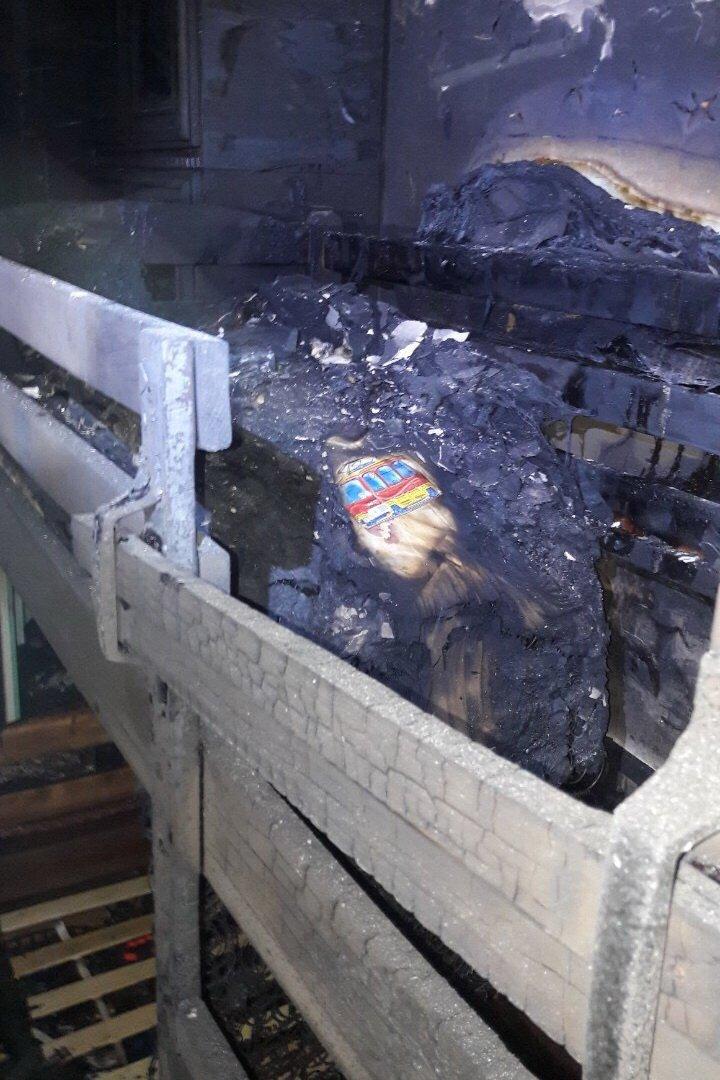 В десятиэтажке на Ландау произошел пожар