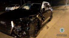 На Магистральном въезде столкнулись Audi и ГАЗ 3110 (фото)