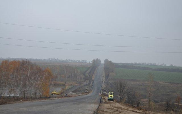 Завершен ремонт автодороги «Чугуев – Меловое»
