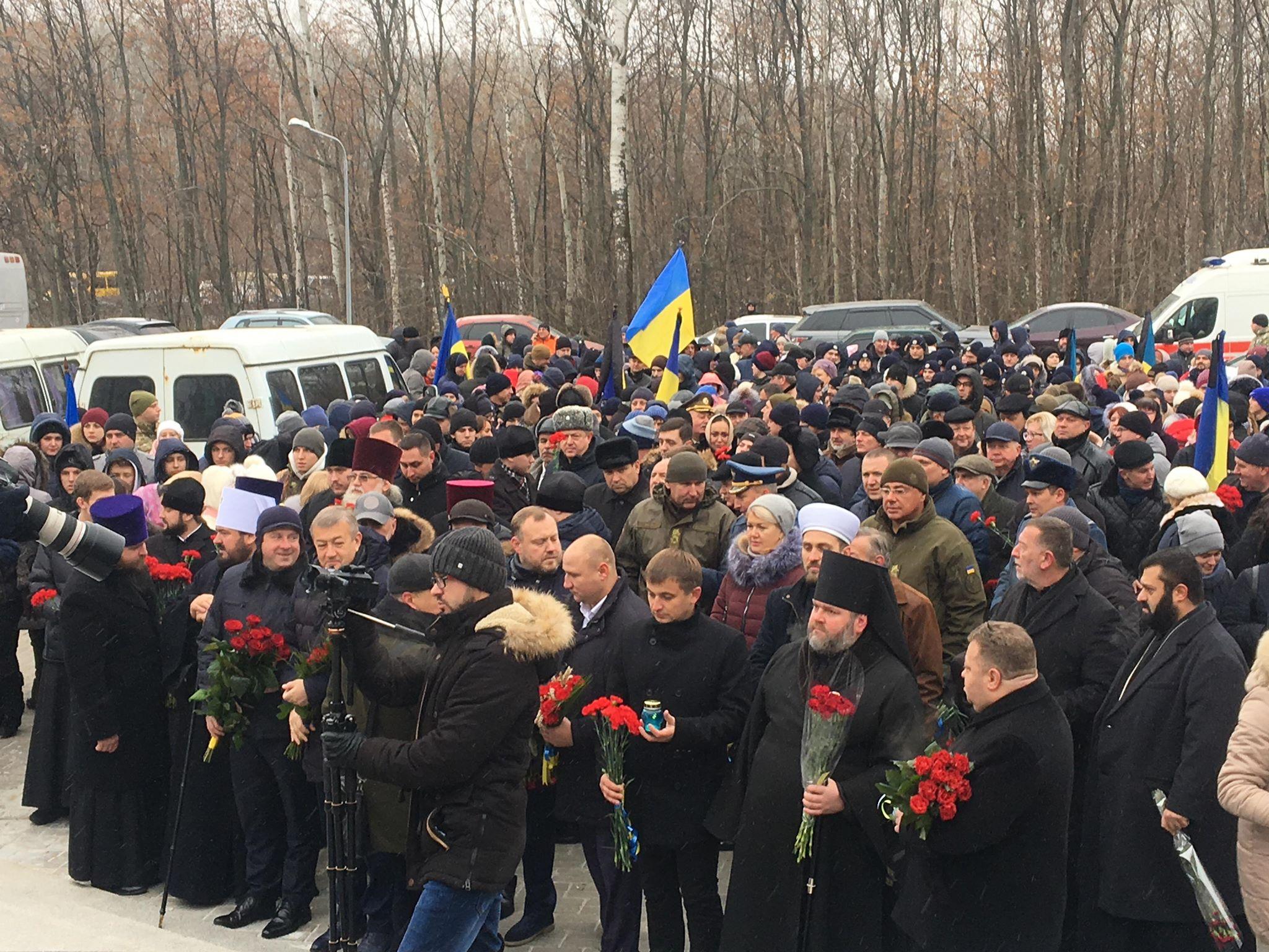 У Харкові вшанували пам'ять жертв Голодомору (відео)