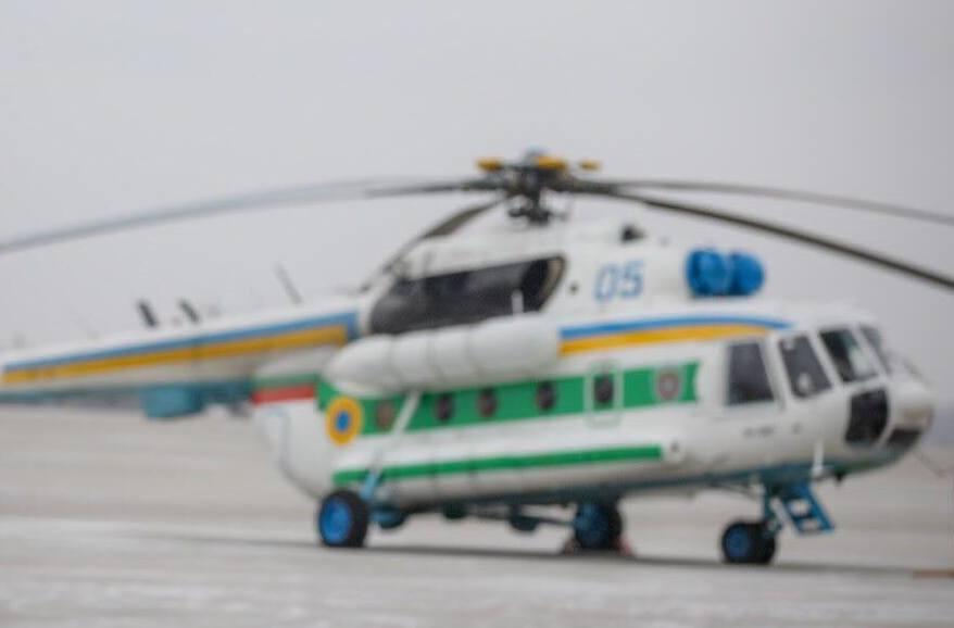 Харьковские пограничники получили модернизированные вертолеты Ми-8 (фото)