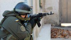 Харьковские нацгвардейцы отработали охрану государственных объектов в особый период