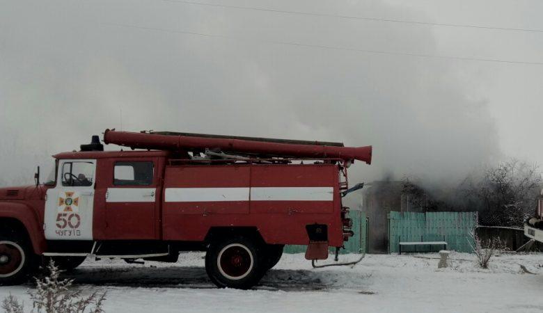 На Харьковщине сгорела пенсионерка