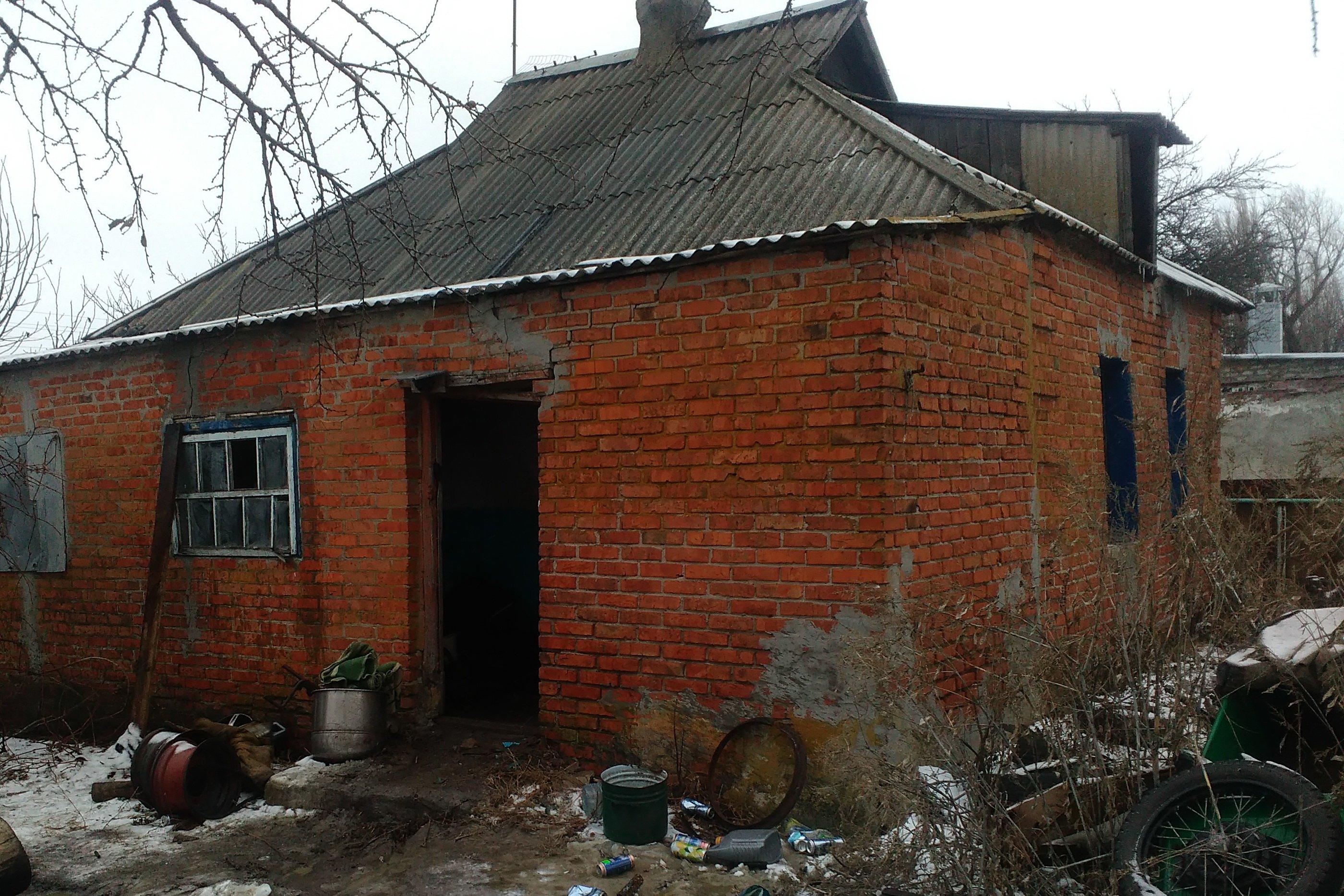 Под Харьковом во время пожара погиб мужчина (фото)