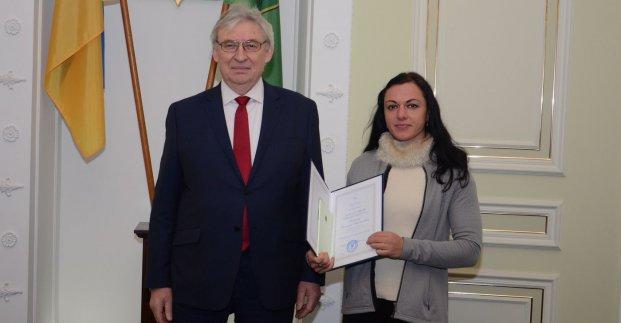 Харьковчанам вручили премии городского совета