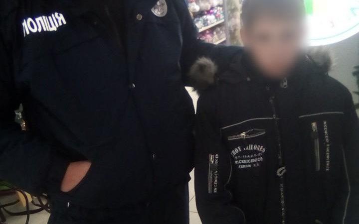 В супермаркете Харькова найден пропавший мальчик