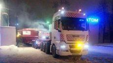 Харьковская полиция обеспечила сопровождение массивного нeгабаритного груза (фото)