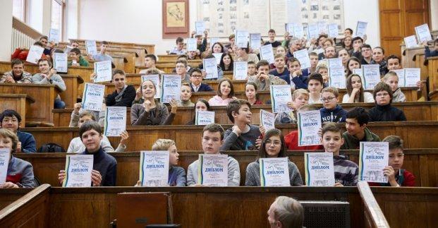В Харькове наградили первых победителей математических боев