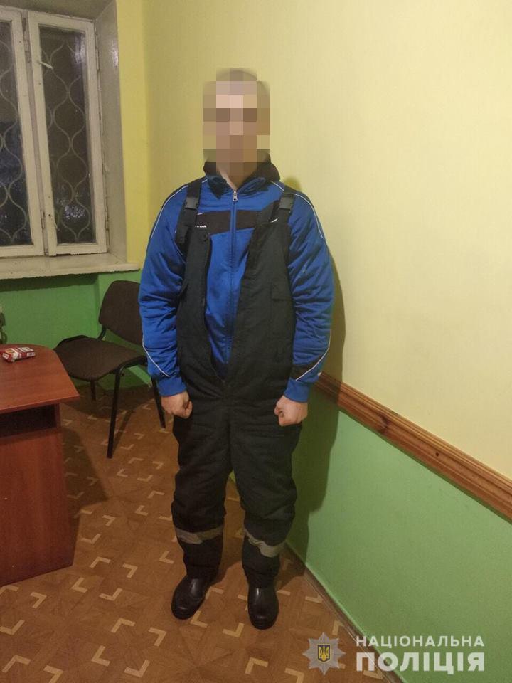 Под Харьковом задержали мужчину, который обворовывал гаражи
