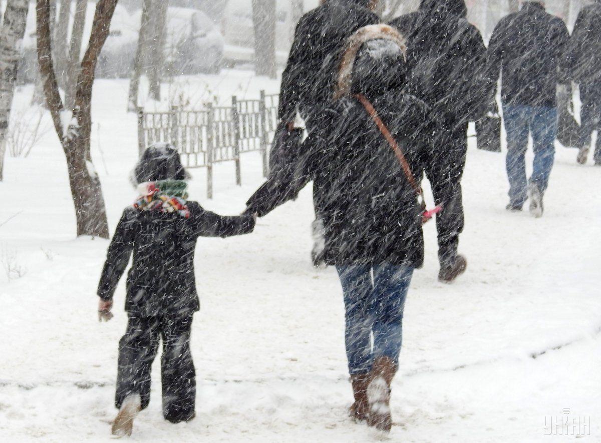 На Харківщині знов очікується сильний снігопад (відео)