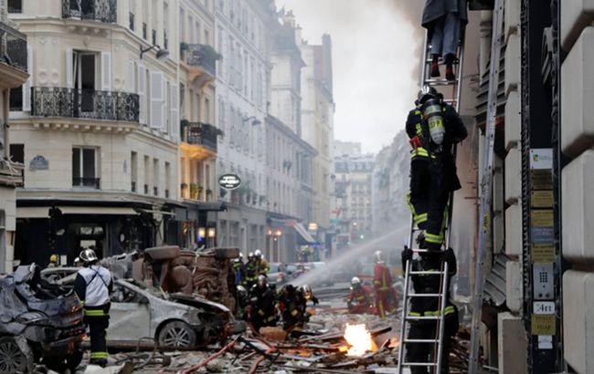 В центре Парижа при взрыве погибло четыре человека