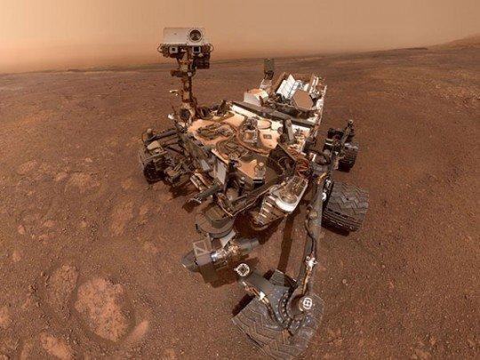Прощальное селфи на Марсе
