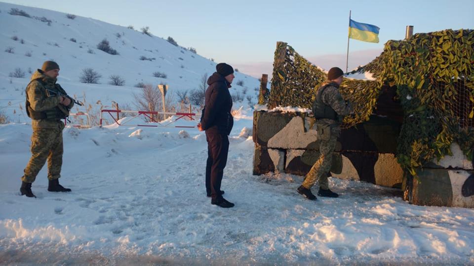 Пограничники усиливают охрану на границе с РФ (фото)