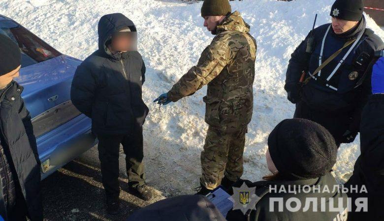 Харьковчанин предложил таксисту купить гранату (фото)