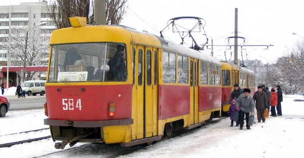 В Харькове трамваи на один день изменят маршрут
